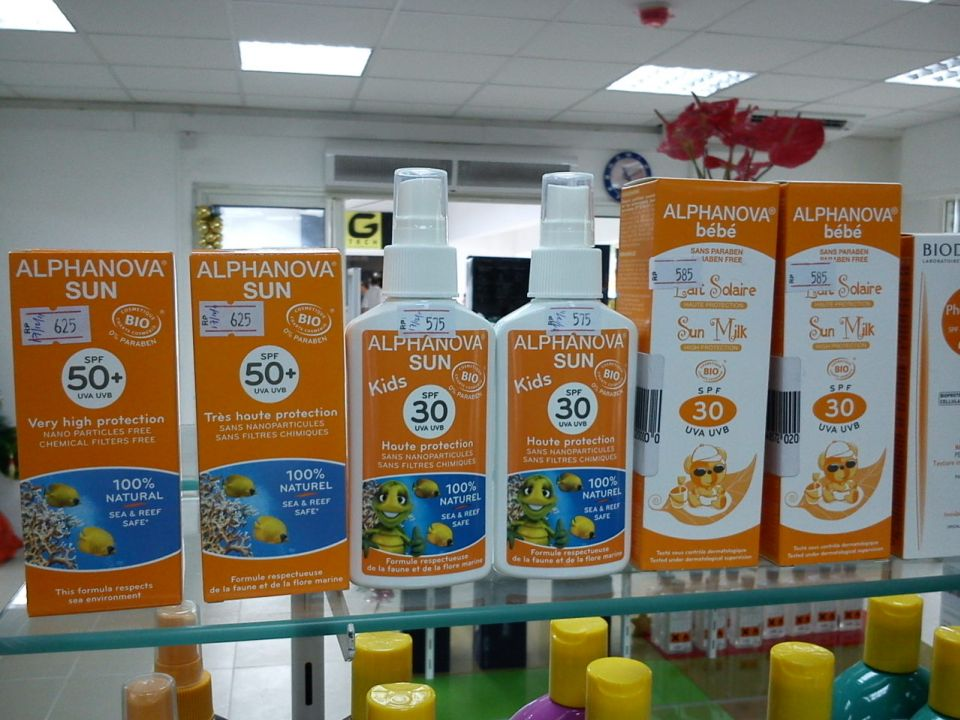 crème solaire bio 50